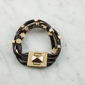 Lucky Brand Leather Cuff Bracelet